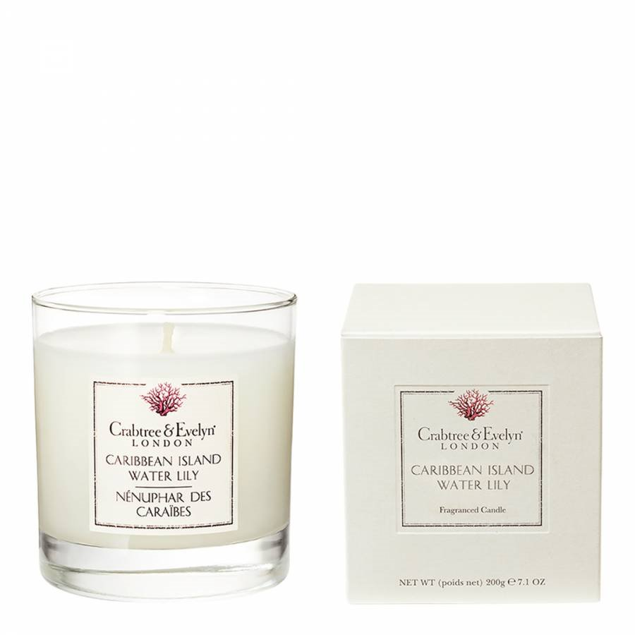 Caribbean Island Water Lily Candle by Crabtree & Evelyn
