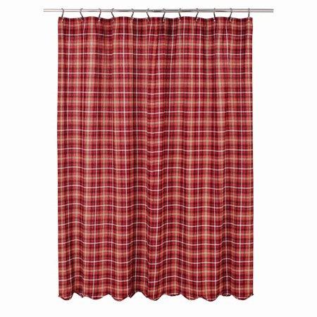 Braxton Scalloped Shower Curtain