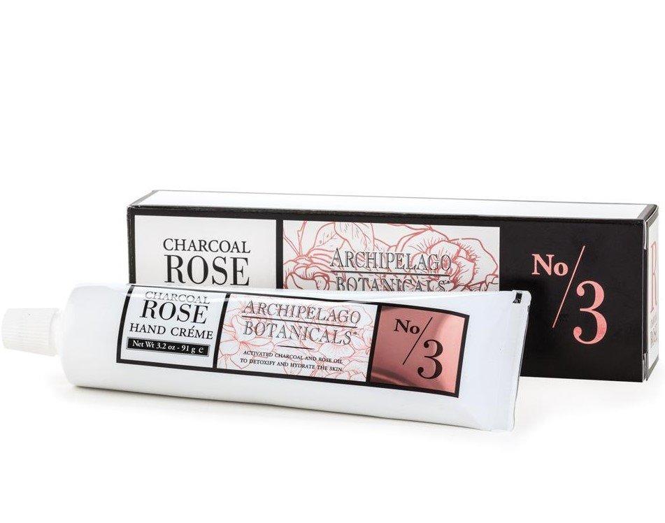 Archipelago Charcoal Rose Hand Creme