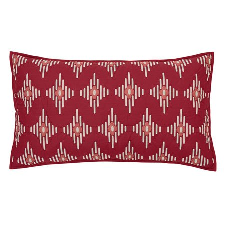 Paloma Crimson King Sham