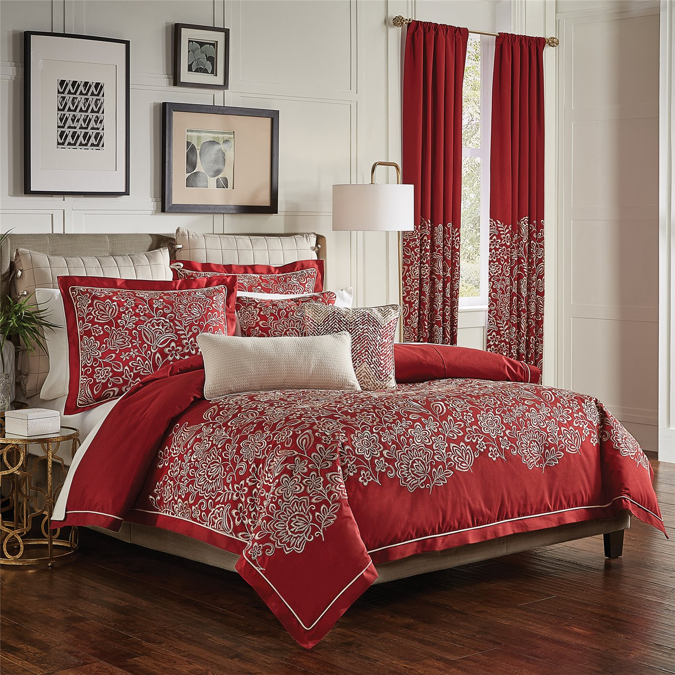 Adriel King 3 Piece Comforter set