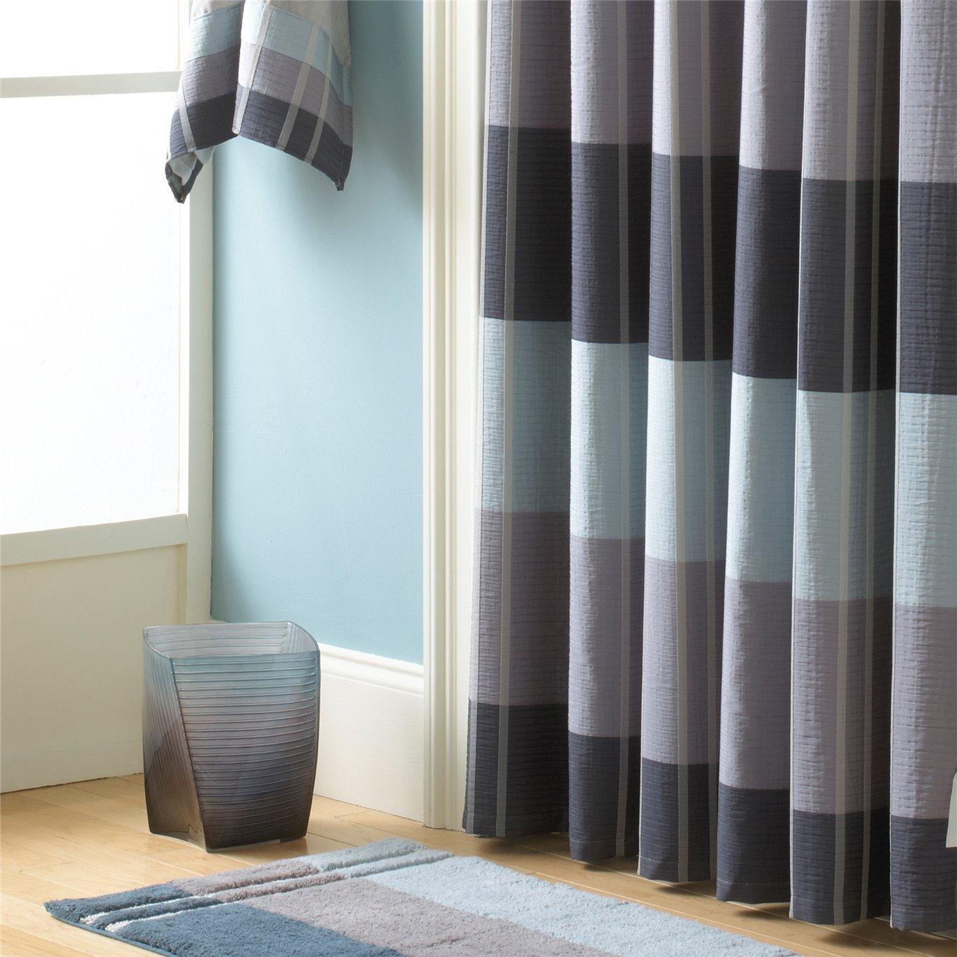 Fairfax Shower Curtain Slate 72X72 By Croscill