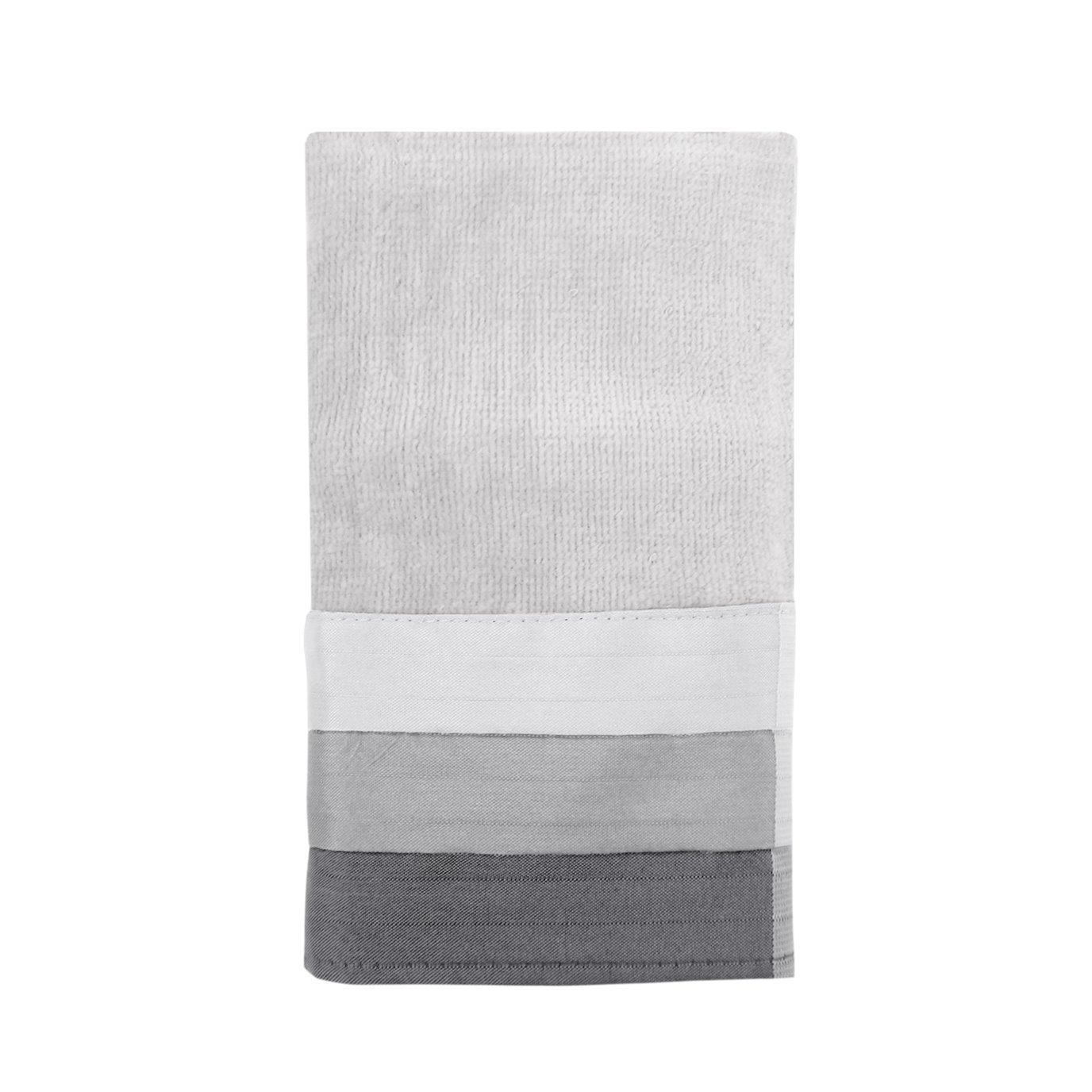 Fairfax Fingertip Towel Black 11X18