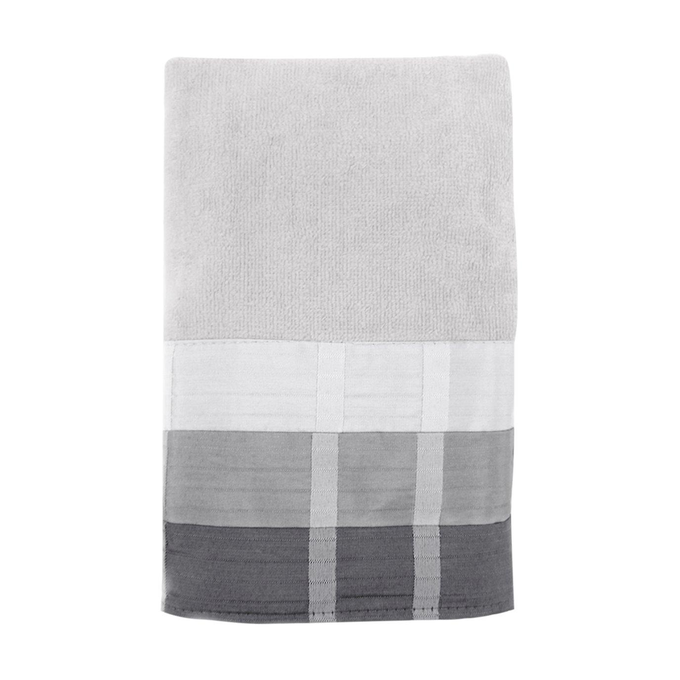 Fairfax Hand Towel Black 16X28