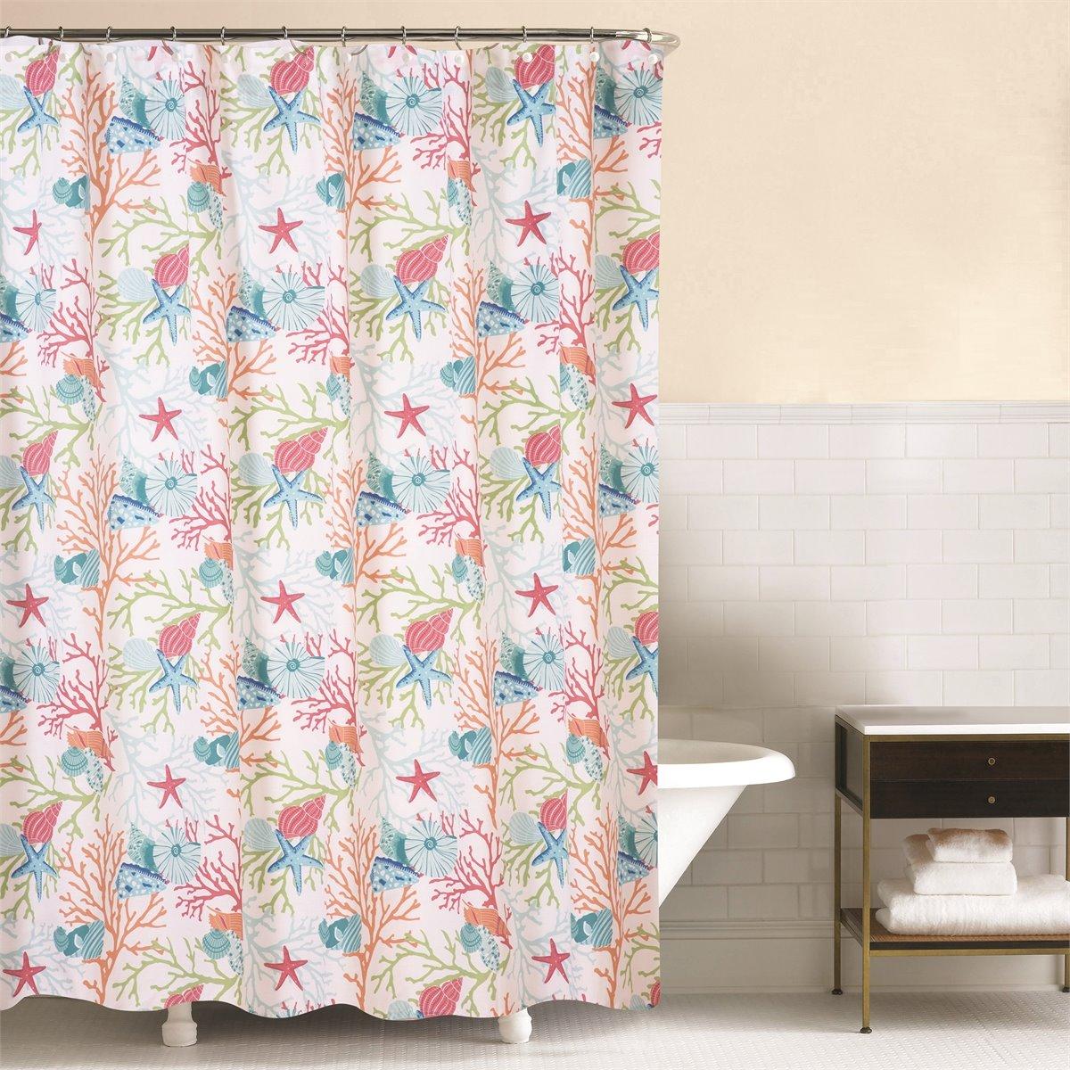 Caribbean Splash Shower Curtain