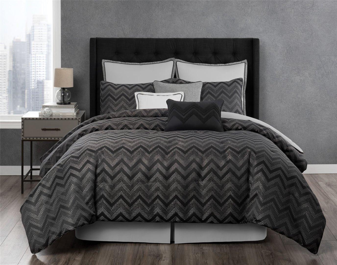 Berkeley 4 Piece Queen Comforter Set