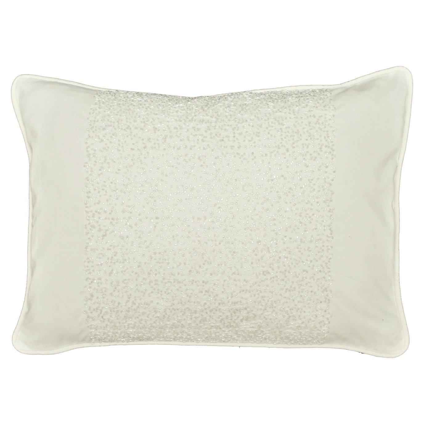 Santa Monica Beaded Throw pillow