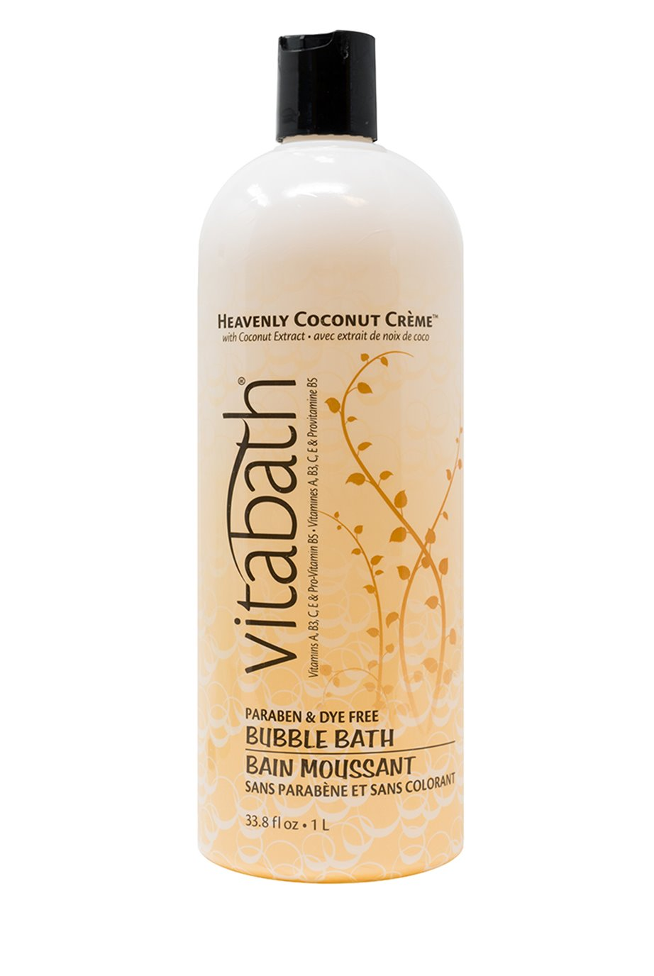 Vitabath Heavenly Coconut Creme Bubble Bath (33.8 fl oz)