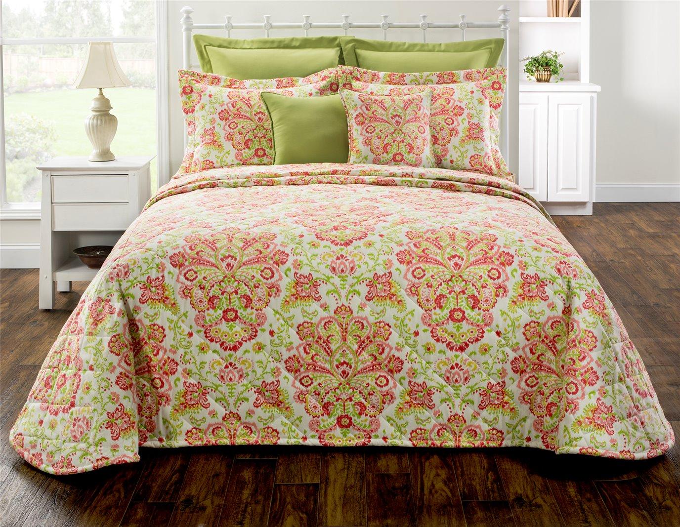 Provence Poppy Twin Bedspread