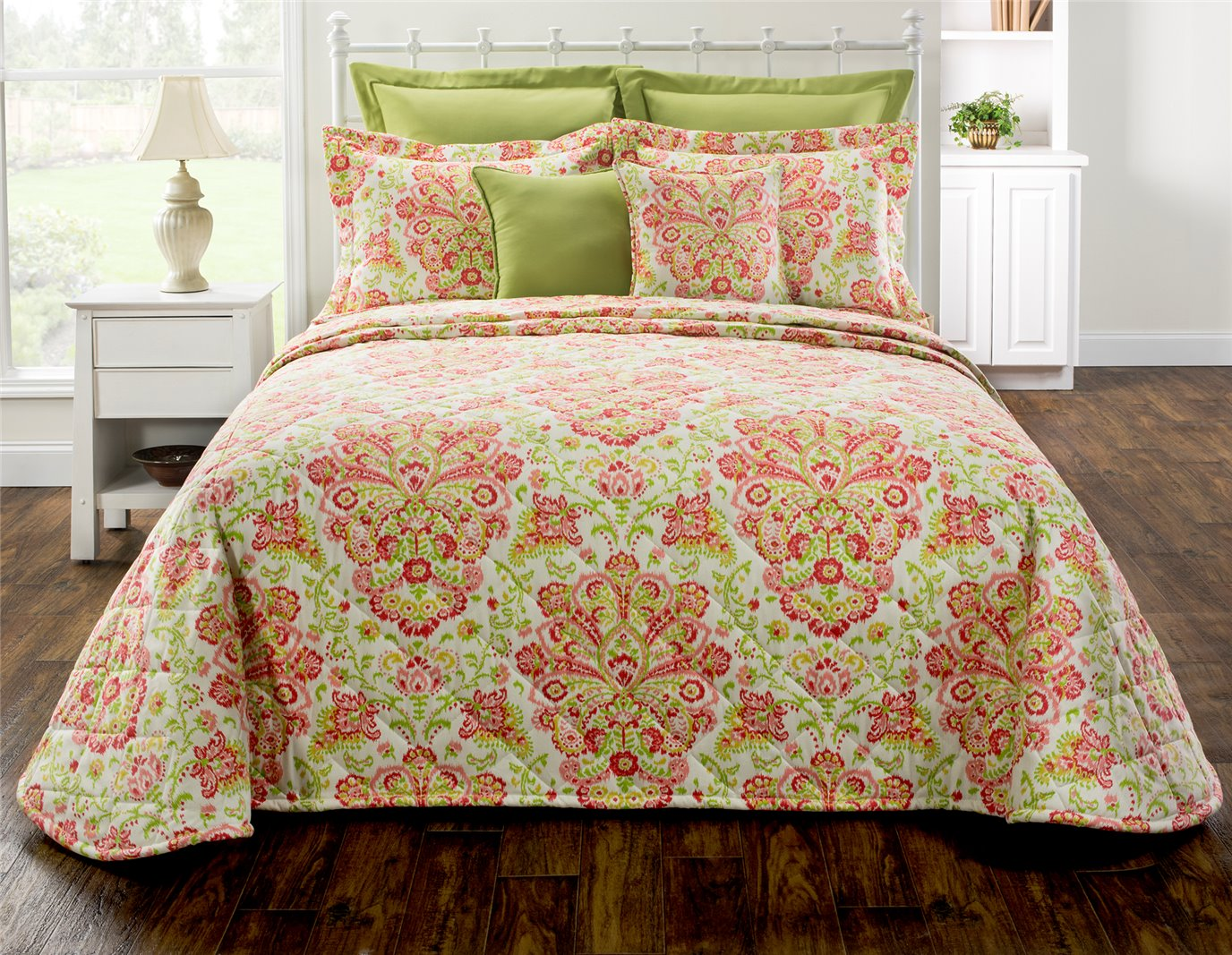 Provence Poppy California King Bedspread