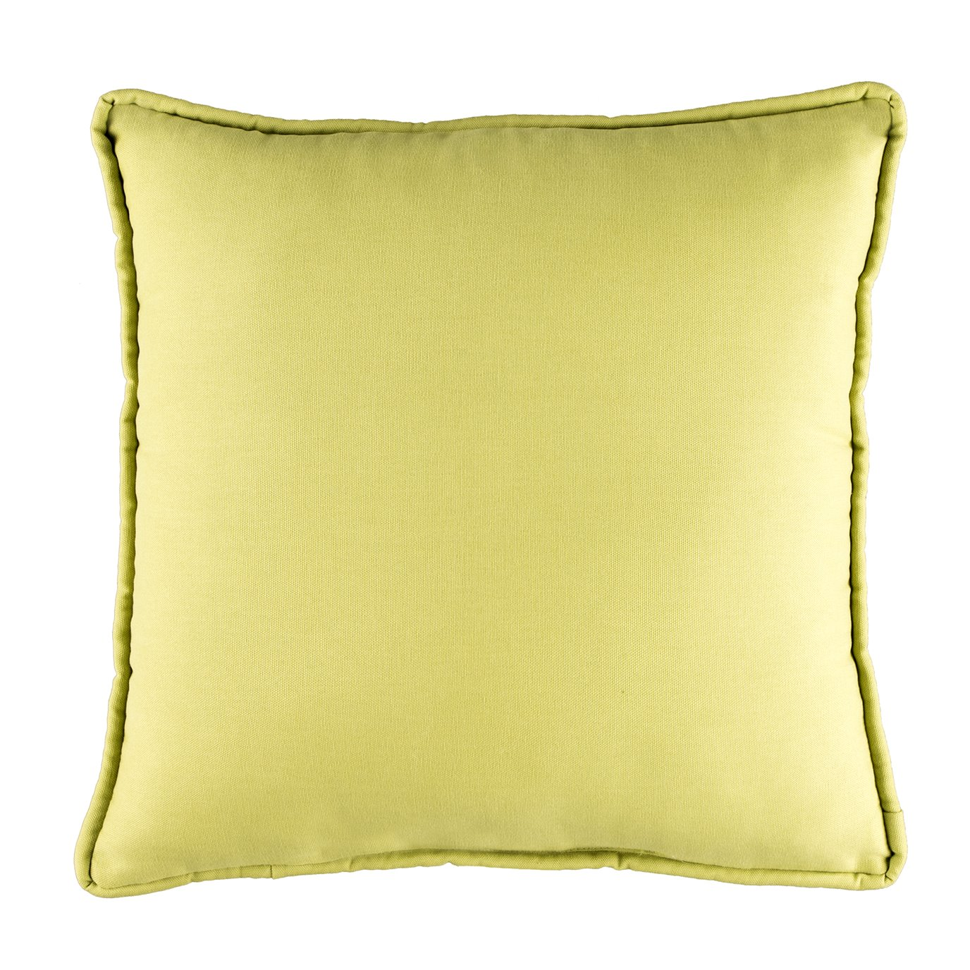 Provence Poppy Green Square Pillow