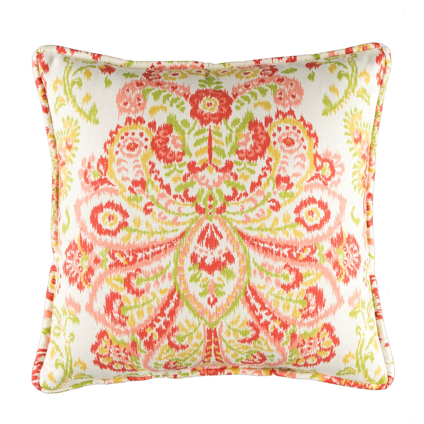 Provence Poppy Printed Square Pillow