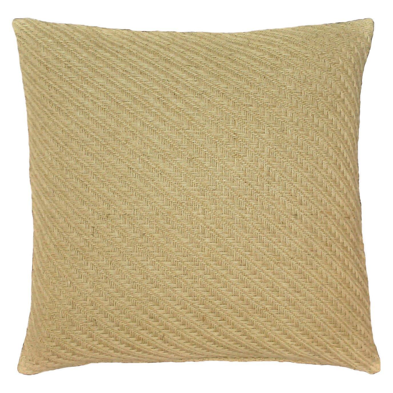 Biccari Jute Throw Pillow