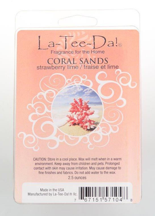 La-Tee-Da Wax Melts Coral Sands