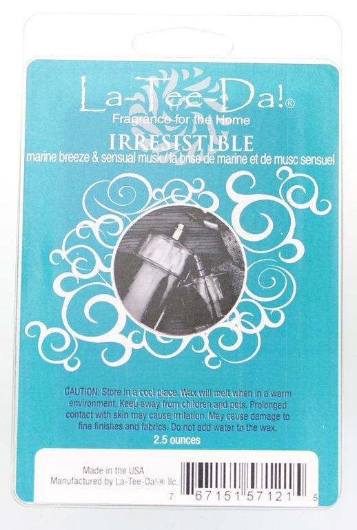 La-Tee-Da Wax Melts Irresistible