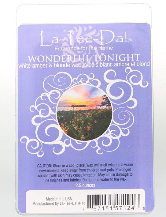 La-Tee-Da Wax Melts Wonderful Tonight