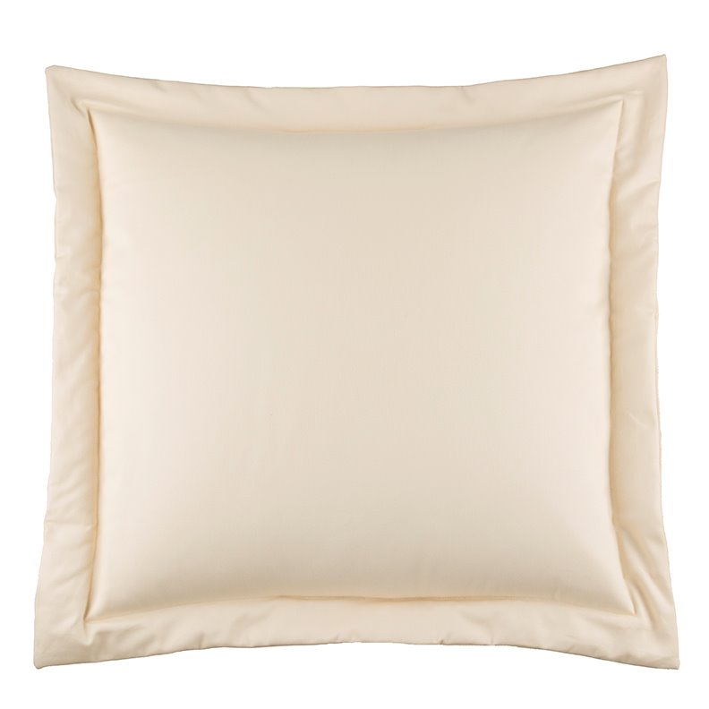 Hillhouse Solid Cream European Sham