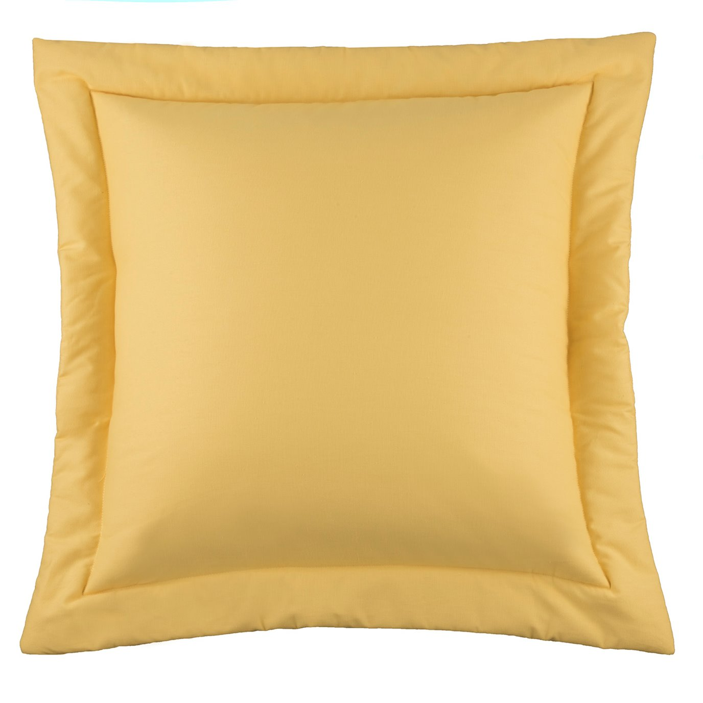 West Bay Solid Euro Sham - Yellow