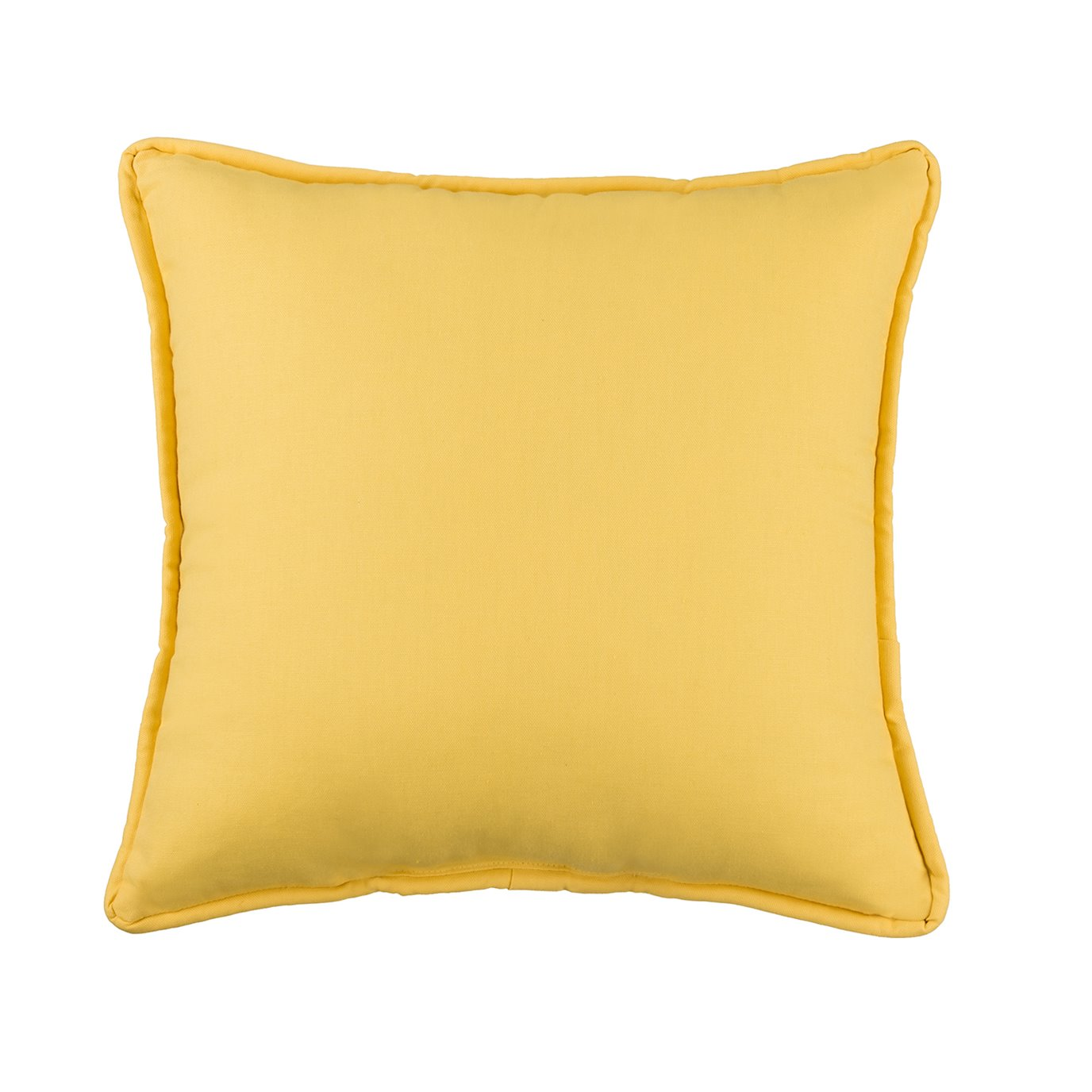 West Bay Solid Square Pillow - Yellow
