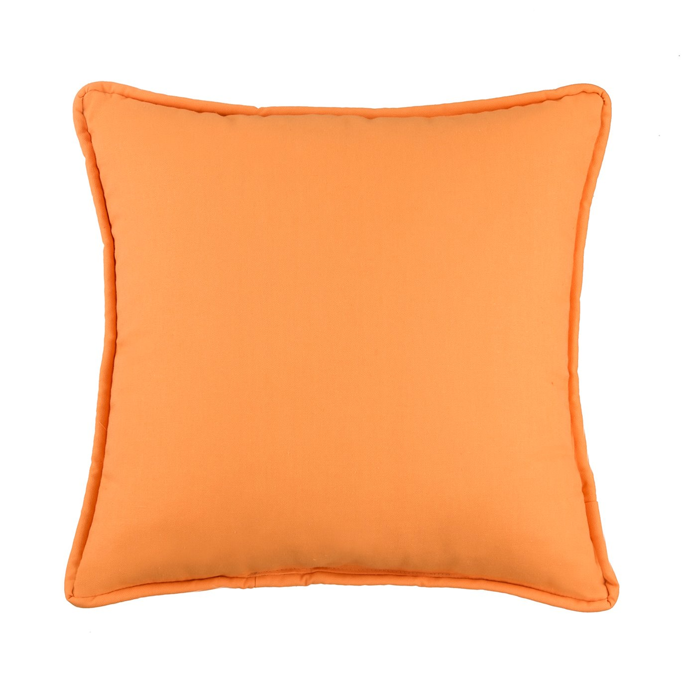 West Bay Solid Square Pillow - Tangerine