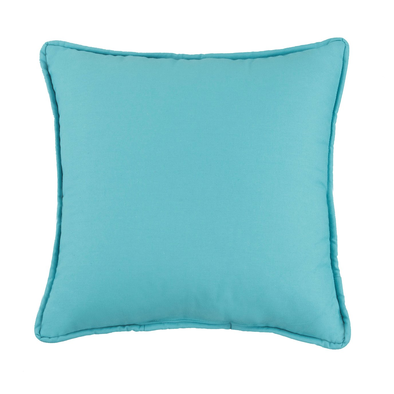 West Bay Solid Square Pillow - Blue
