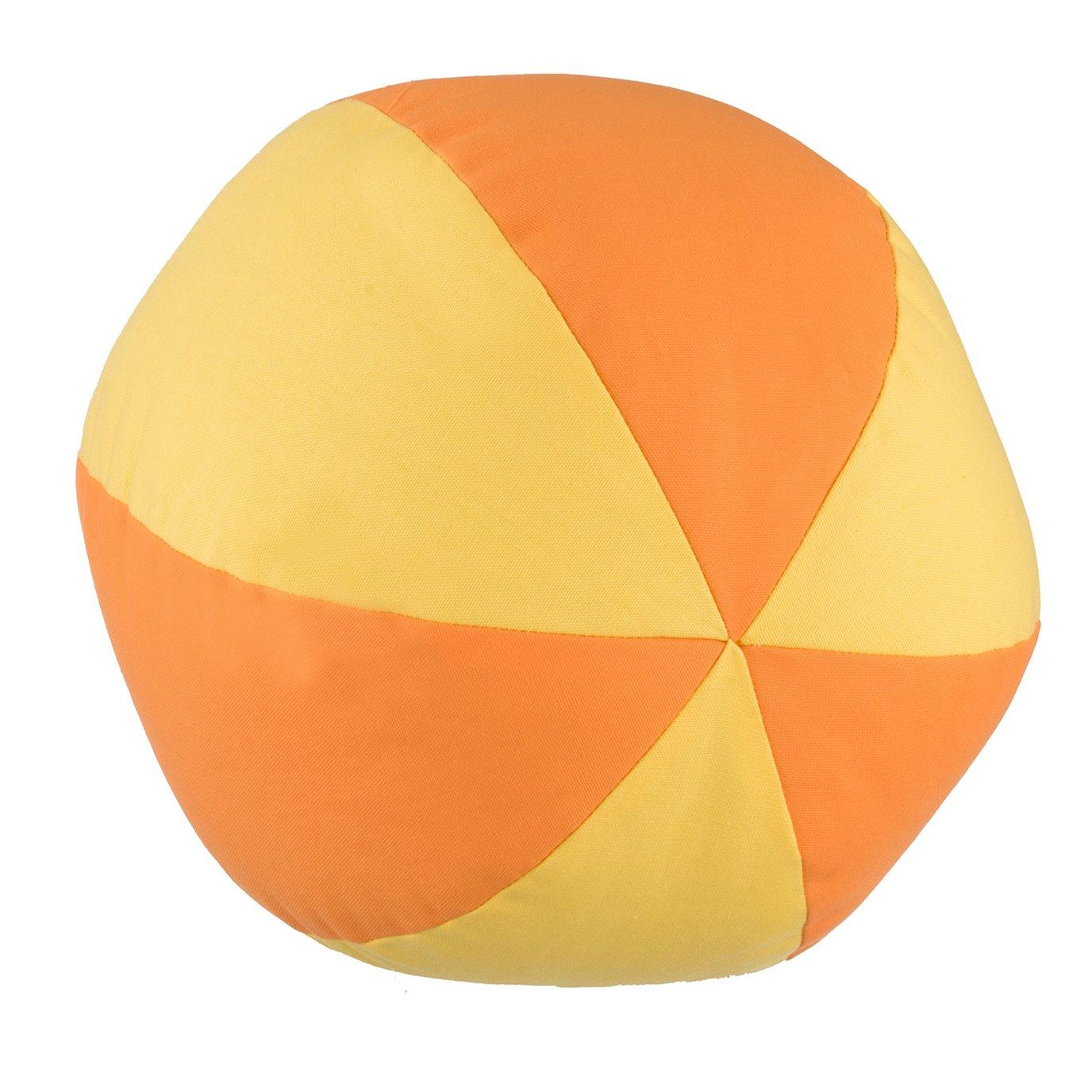 West Bay Beach Ball - Tangerine/Yellow