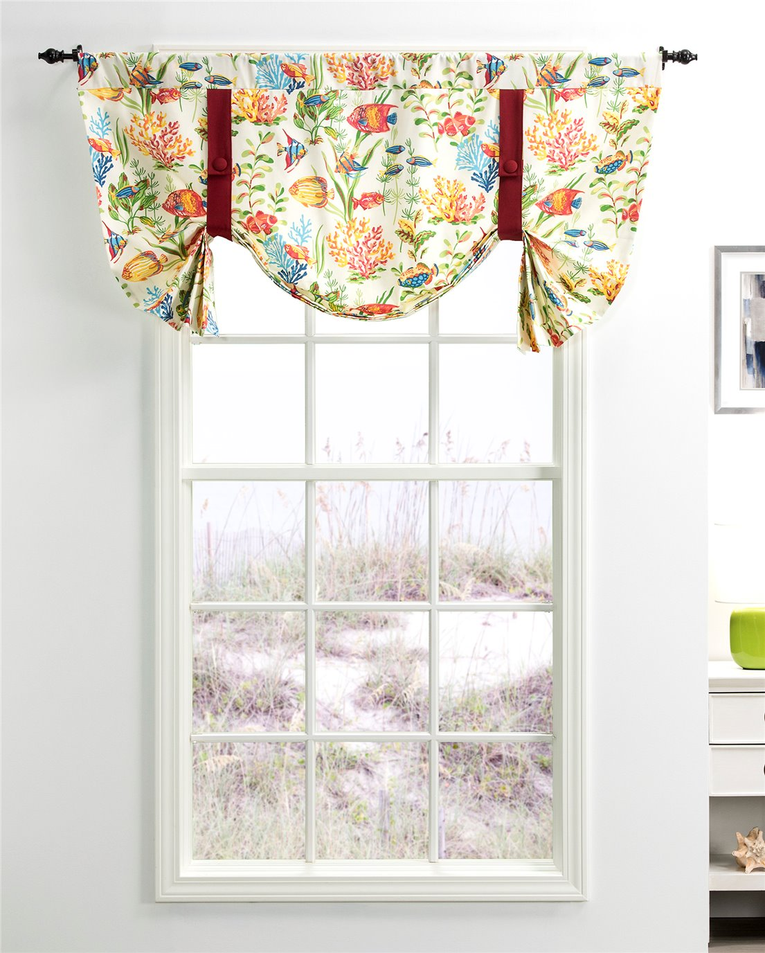 West Bay Tie Up Curtain