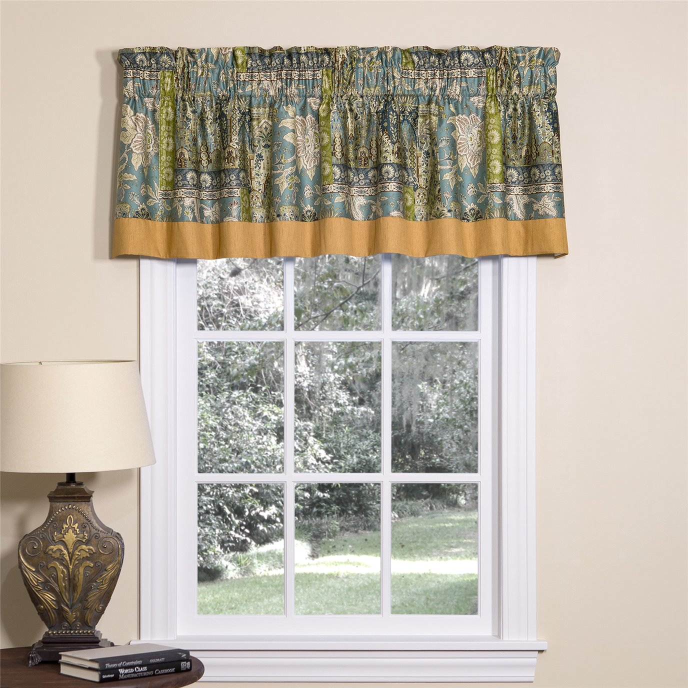 Tangier Tailored Valance with Band