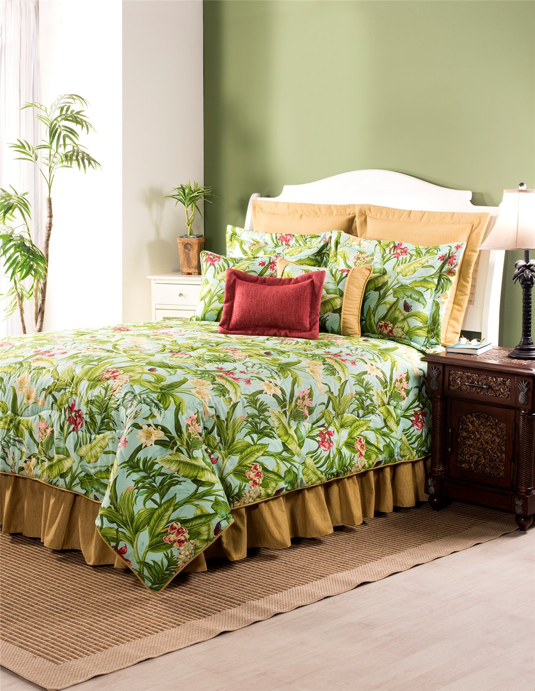 Wailea Coast Bloom Comforter-Full