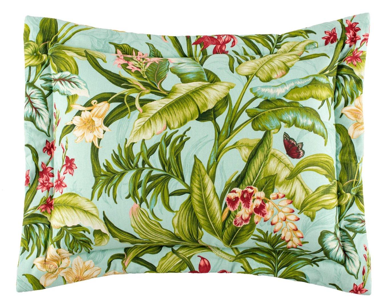Wailea Coast Bloom Pillow Sham-Standard