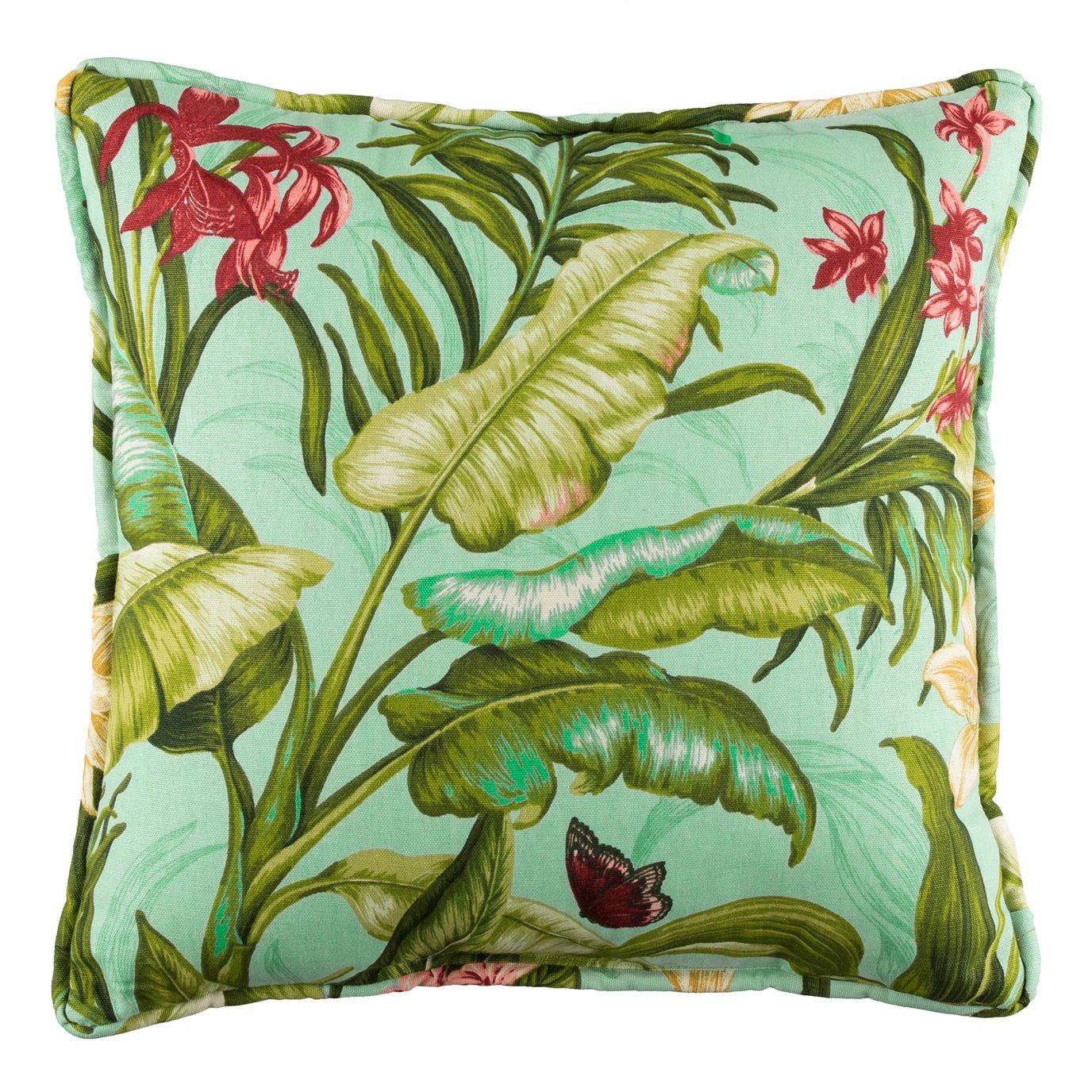 Wailea Coast Bloom Square Pillow