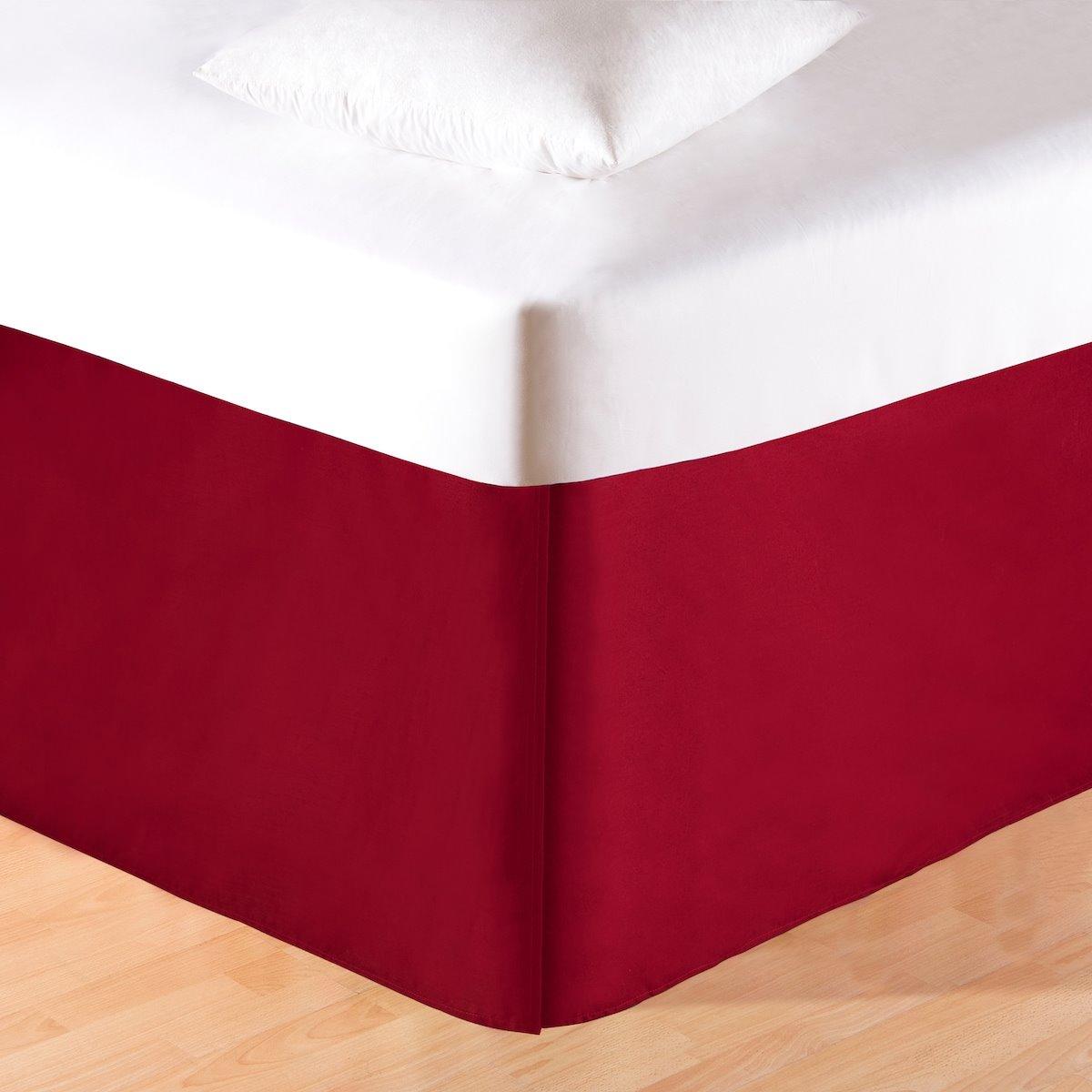 Red King Bedskirt