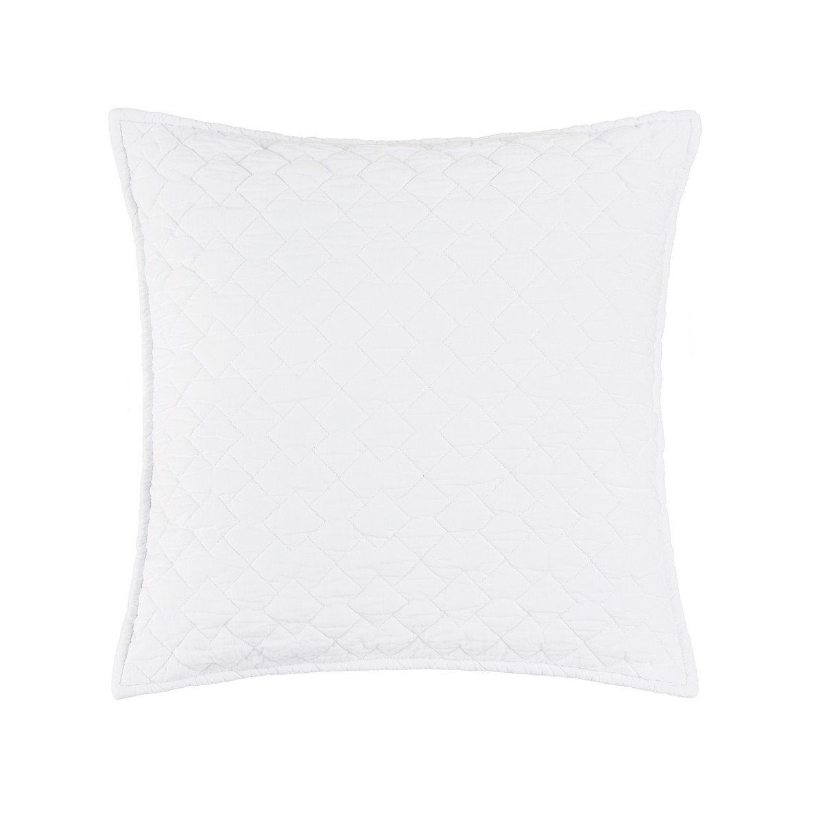 Regent White Quilted Pillow