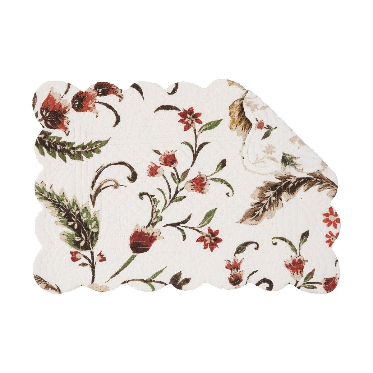 Autumn Bloom Rectangular Quilted Placemat