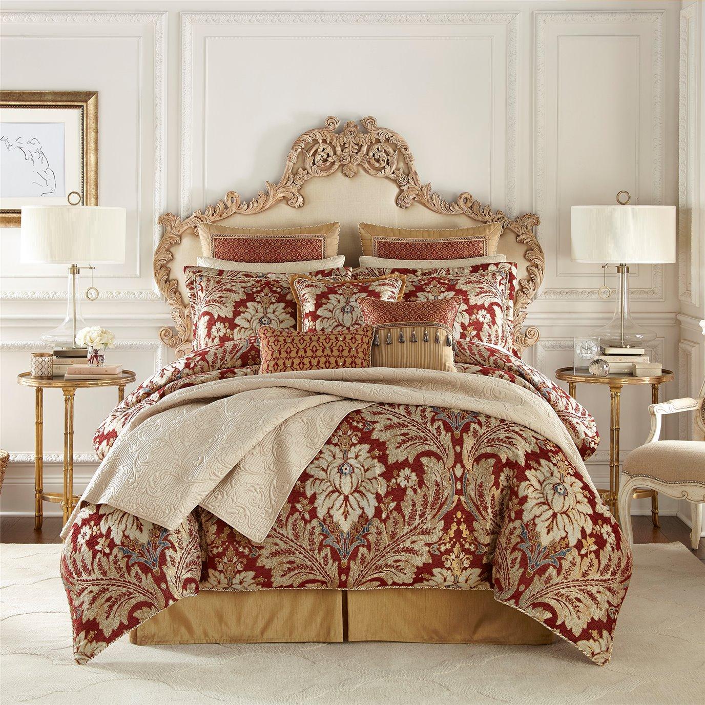Croscill Arden 4-piece Queen Comforter Set