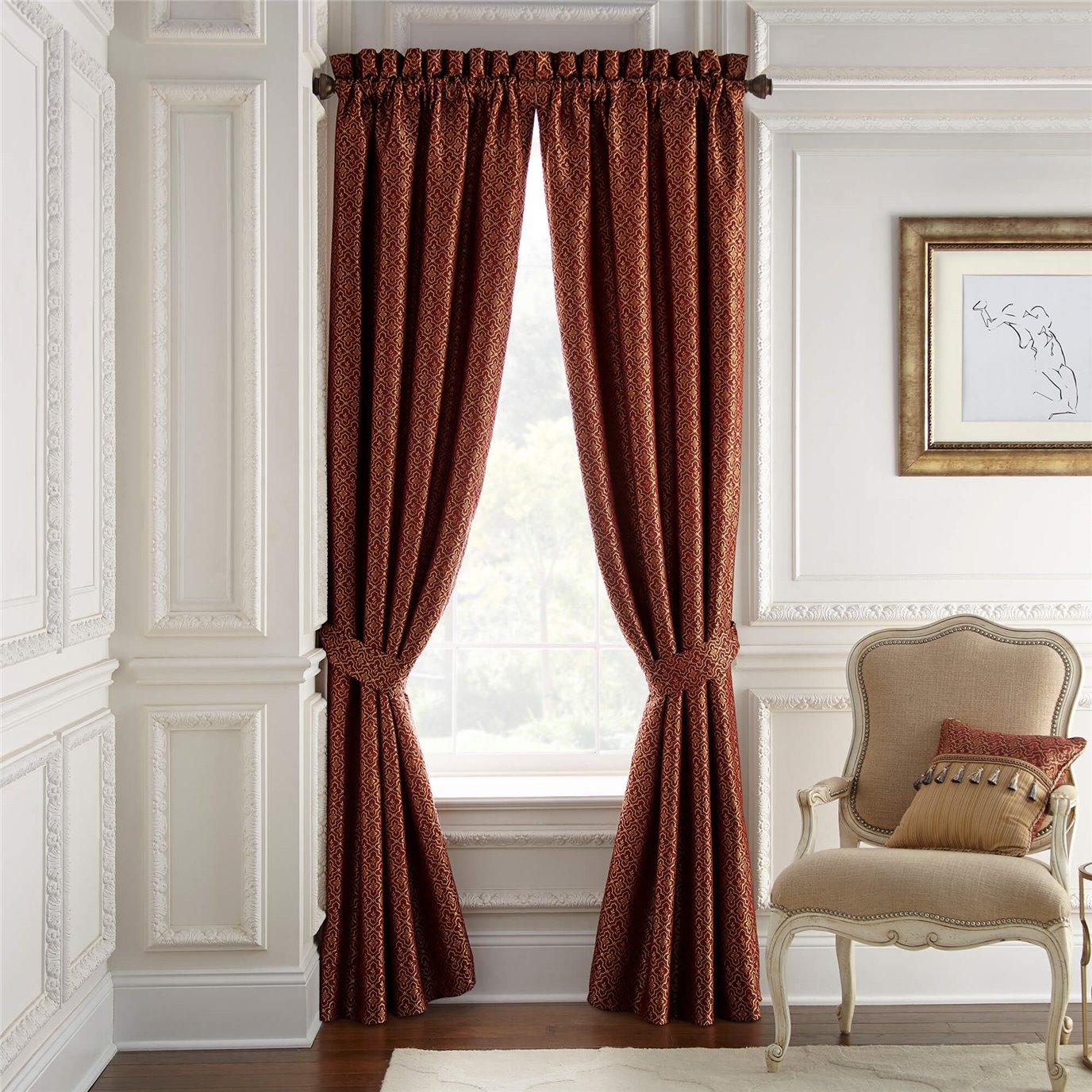 """Croscill Arden 95"""" Curtain Panel Pair"""