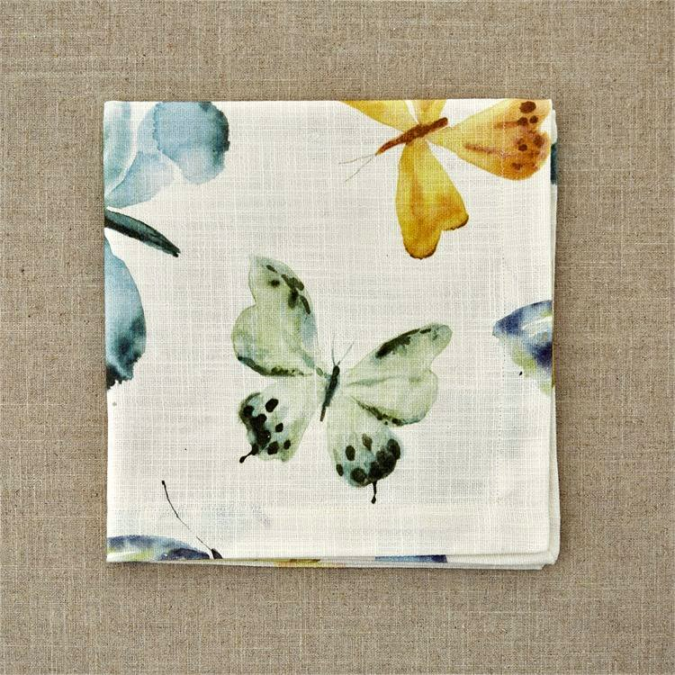Scattered Butterflies Napkin