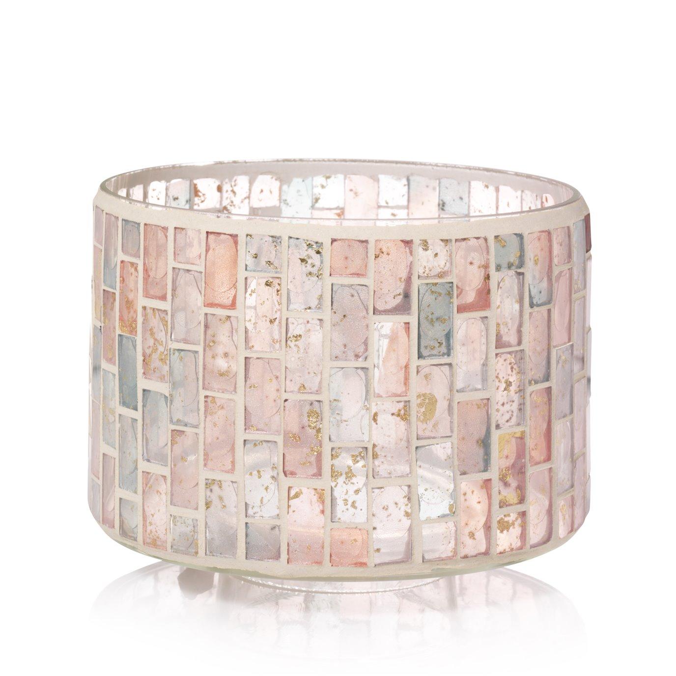 Yankee Candle Romance Mosaic Barrel Shaped Jar Shade