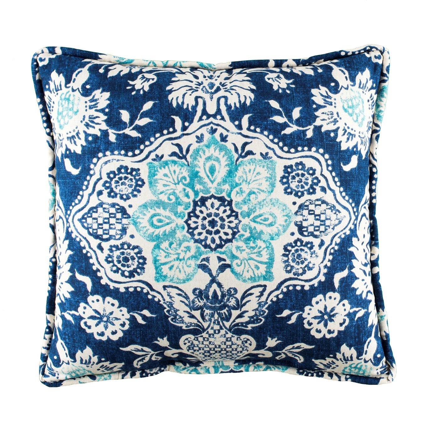 Belmont Harbor Square Pillow