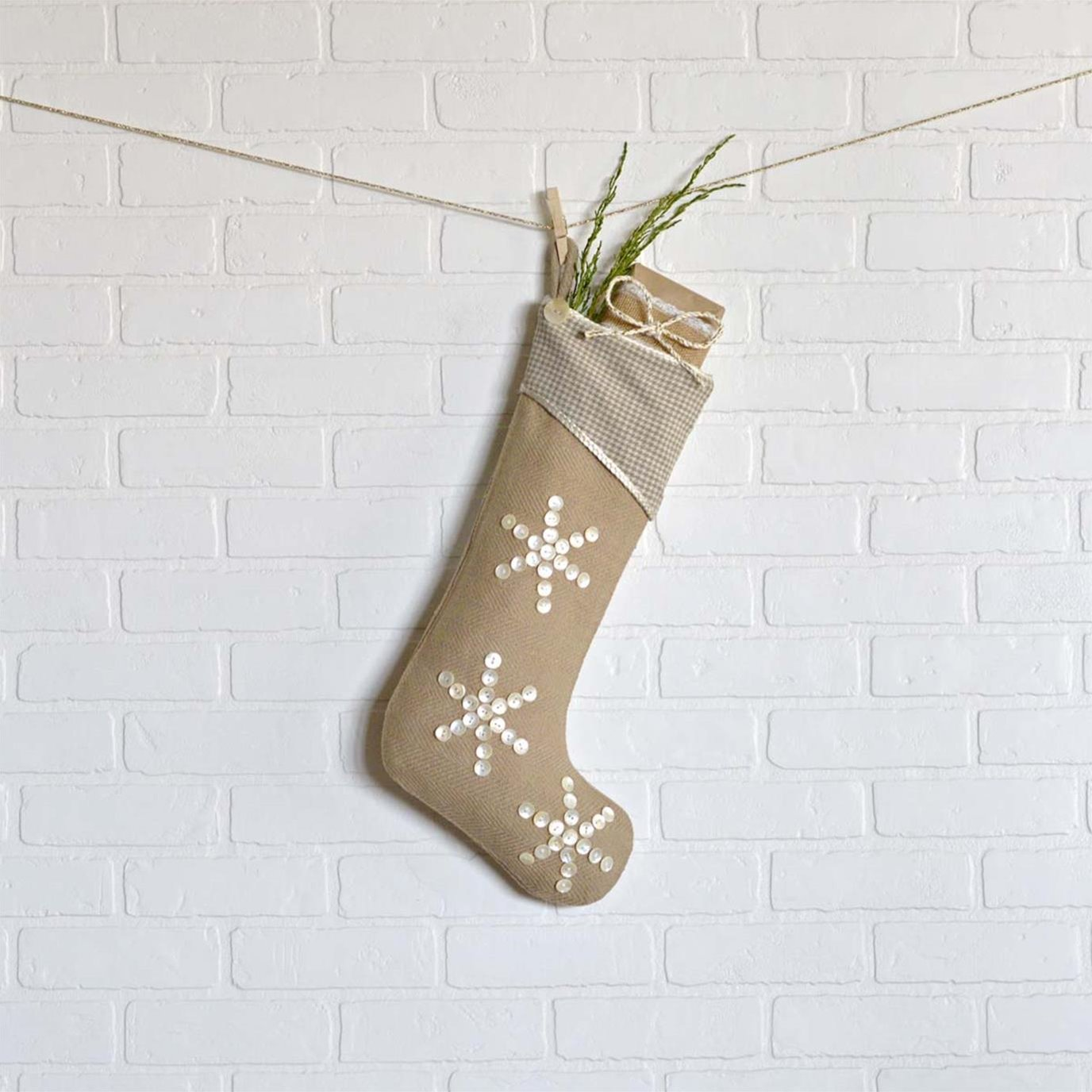 Pearlescent Stocking 11x20