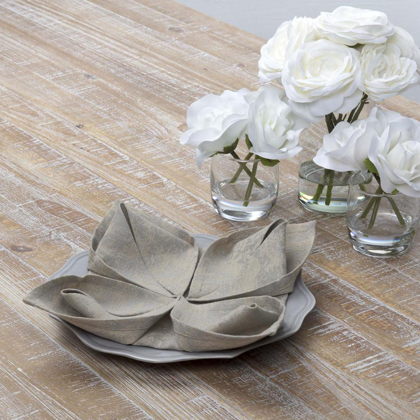 Rebecca Grey Napkin Set of 6 18x18