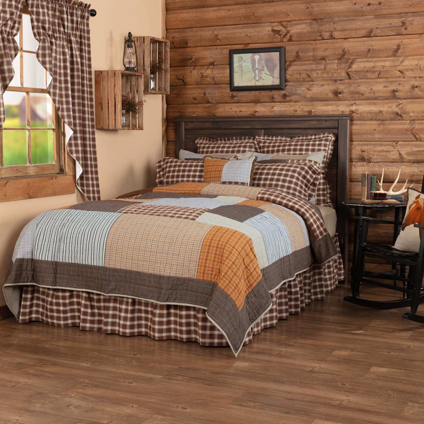 Rory California King Quilt 130Wx115L