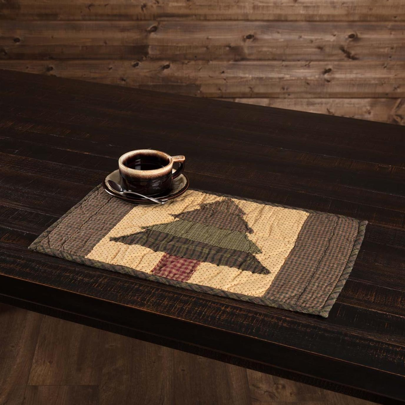 Sequoia Quilted Placemat Set of 6 12x18