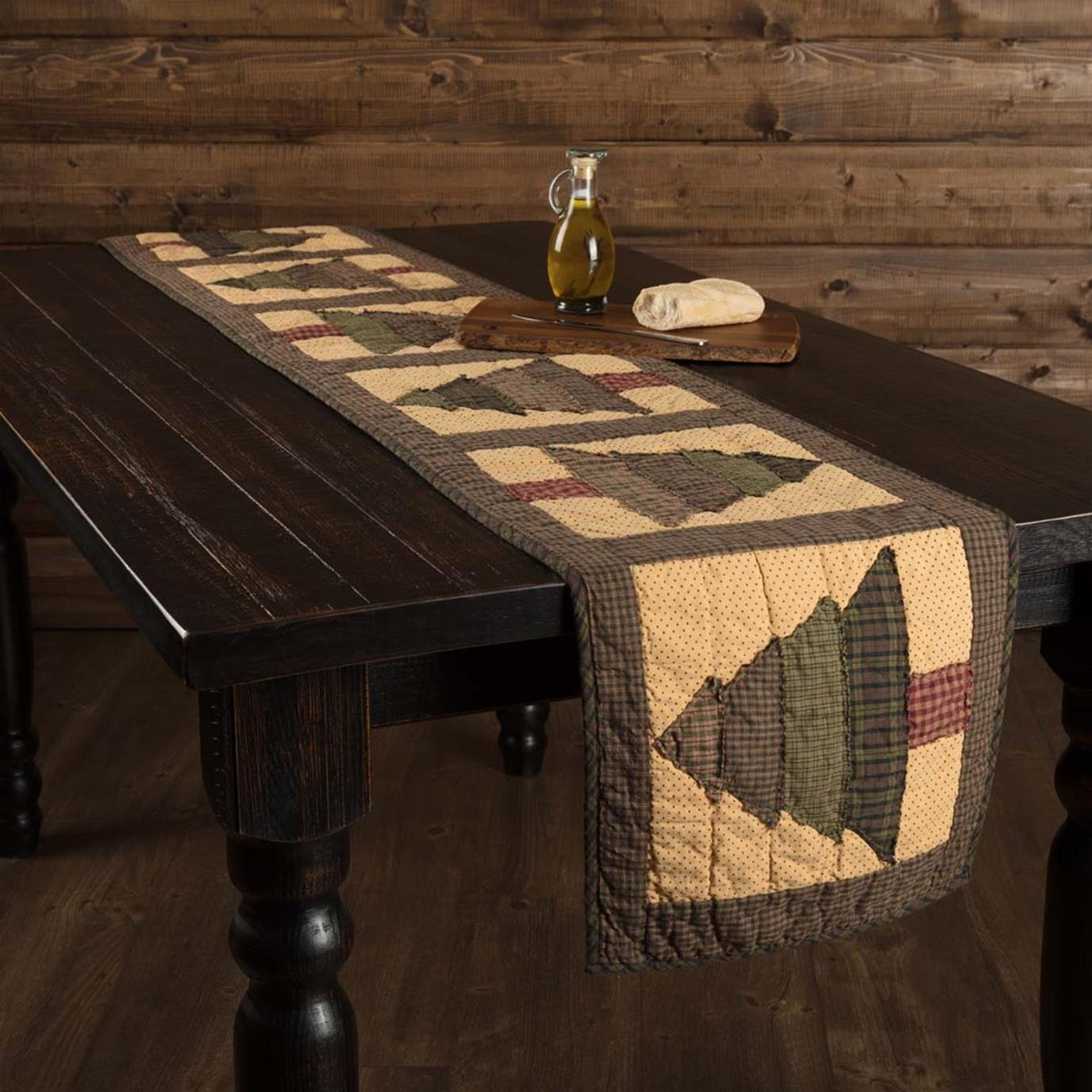 Sequoia Quilted Runner 13x90