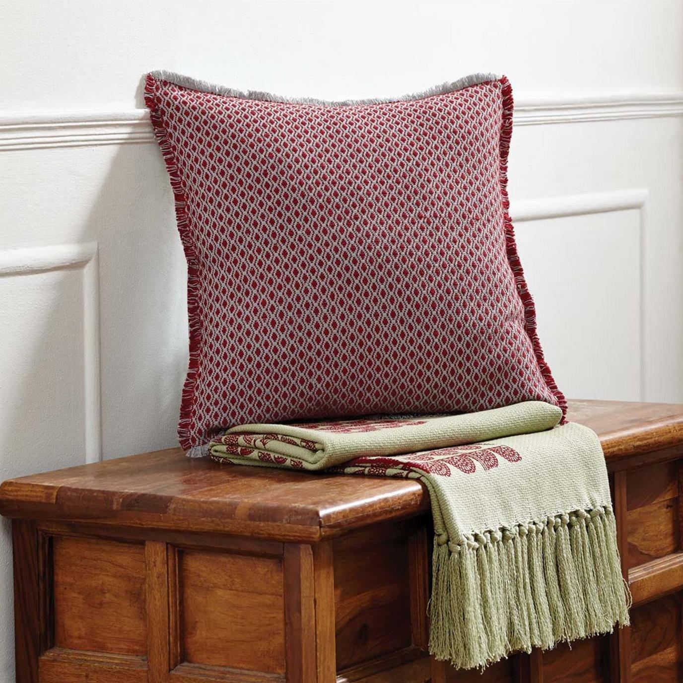 Tannen Pillow Frayed 16x16