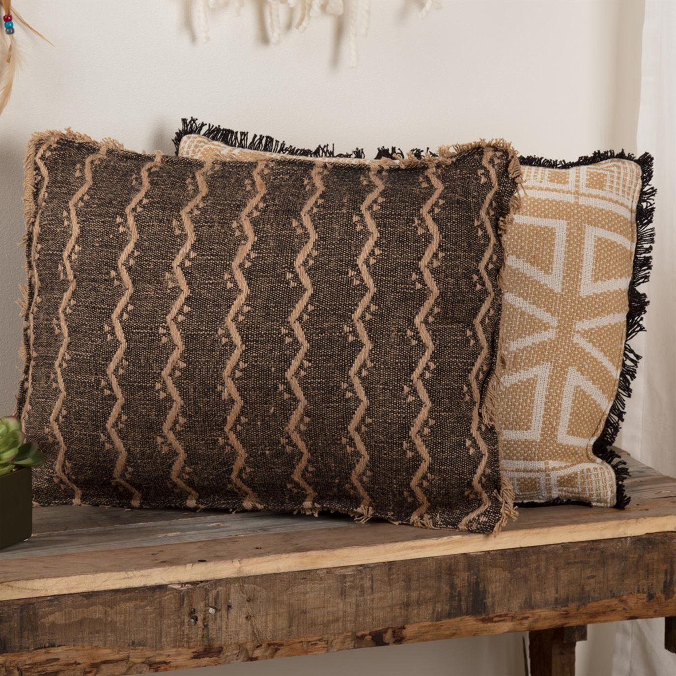 Tatum Jacquard Pillow 14x18