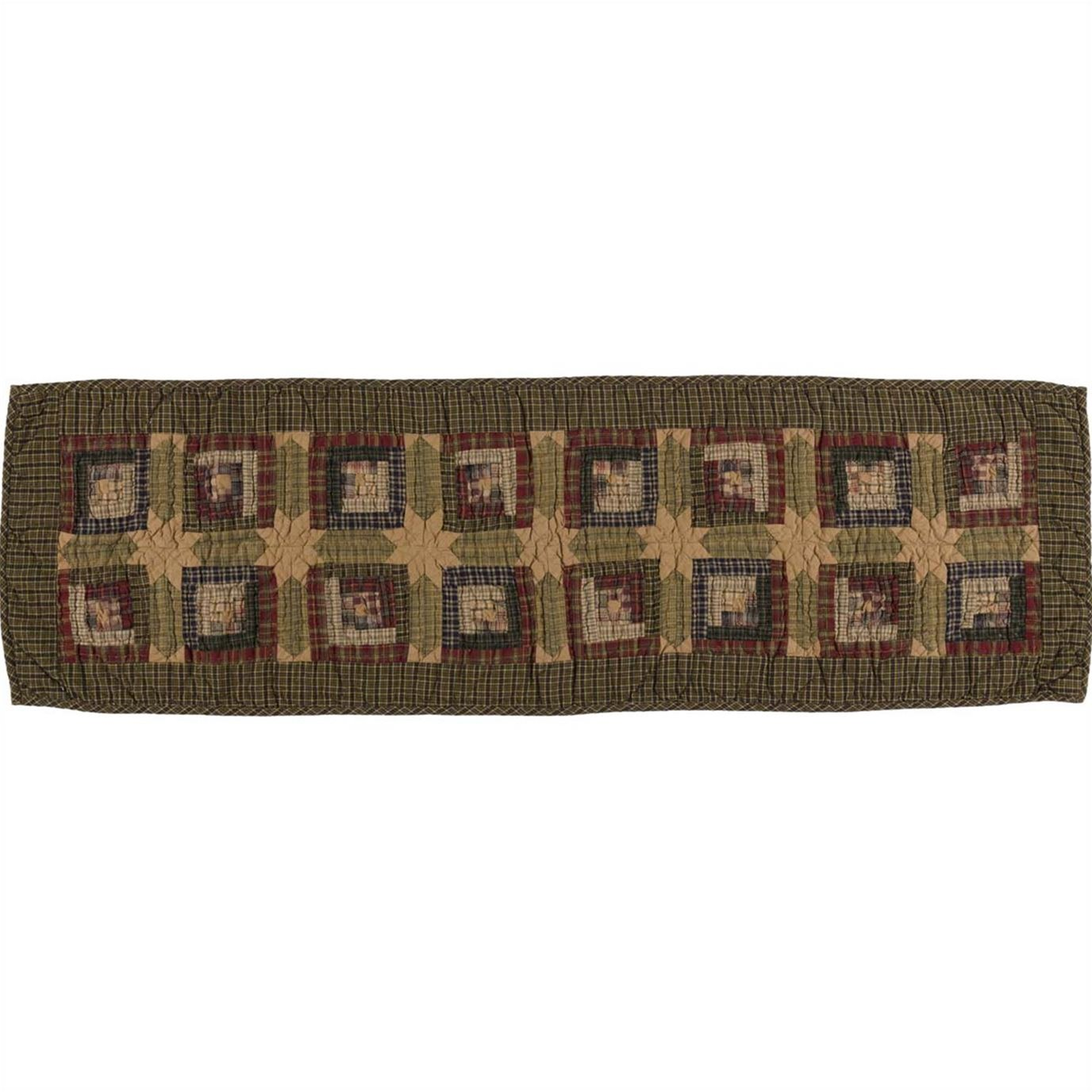 Tea Cabin Runner Quilted 13x48