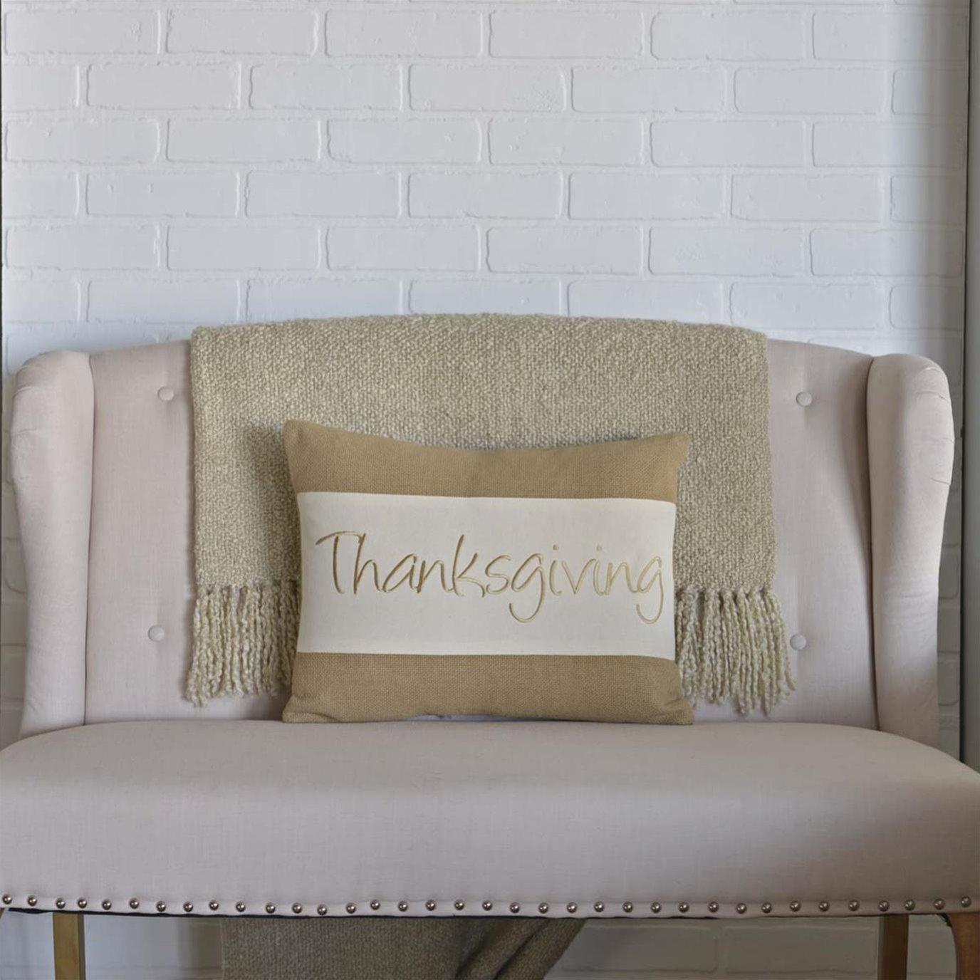 Thanksgiving Pillow 14x18
