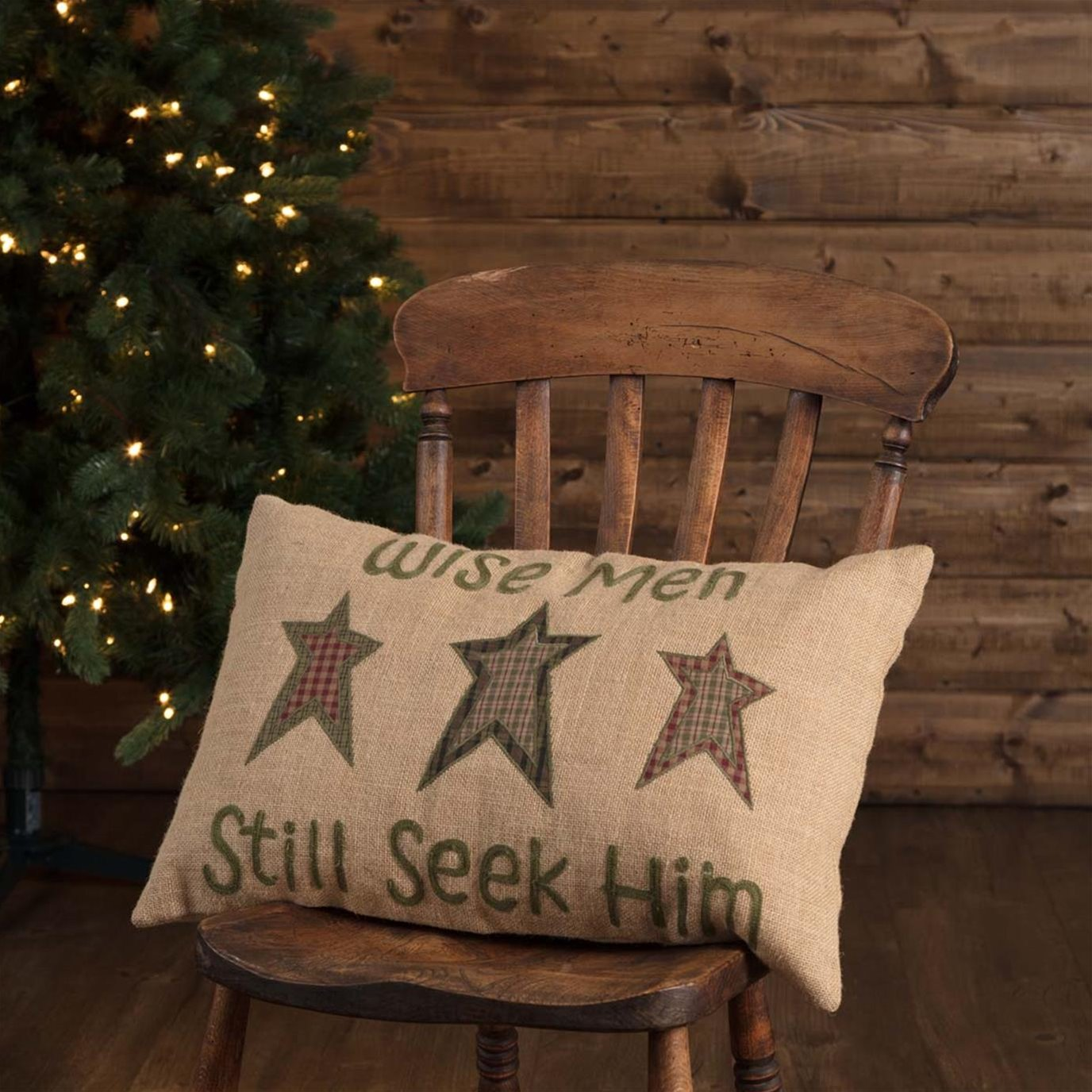 Wise Men Pillow 14x22