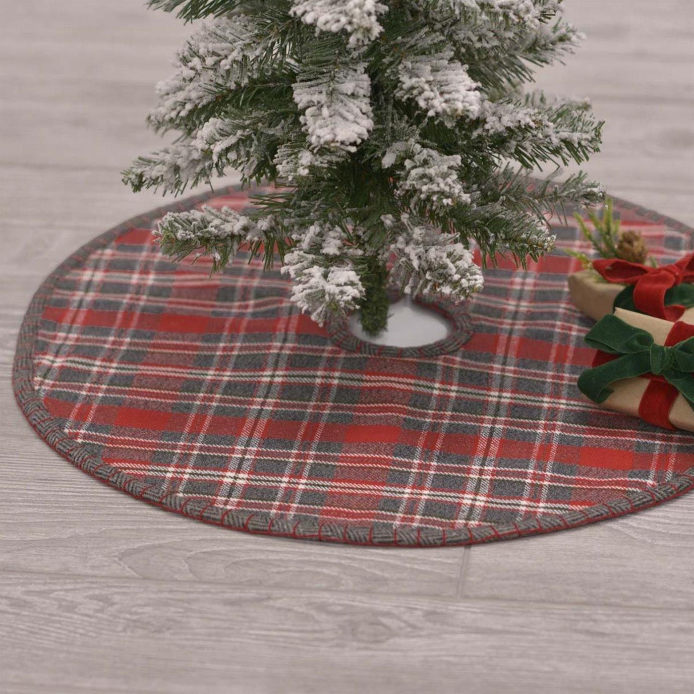 Anderson Plaid Mini Tree Skirt 21